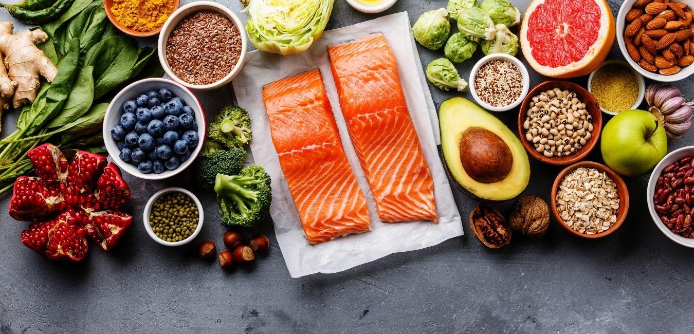 Gesundheitsfördernde Lebensmittel